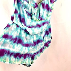 ed7dc43623e ... Tie Dye S. PINK Victoria's Secret Swim - VICTORIA'S SECRET Swim Cover  Up Romper ...